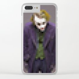 Joker - Why so serious - Toy Building Bricks Clear iPhone Case