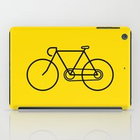 bicycle iPad Cases featuring Bicycle by Luke Turner
