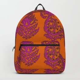 HOMEMADE PINK PAISLEY PATTERN Backpack