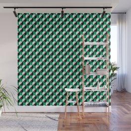 Yin Yang Polka Dot Wall Mural