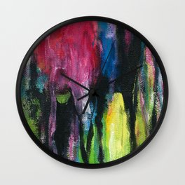 Heart Drops Wall Clock