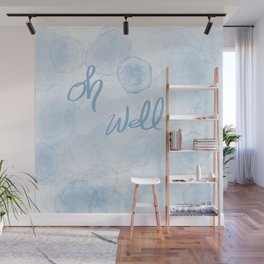 Oh Blue Wall Mural