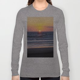 Sunset at Pismo Beach Long Sleeve T-shirt