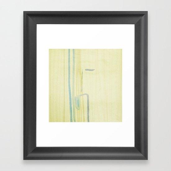 elevator Framed Art Print