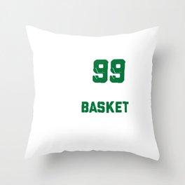 Got 99 Problems But Basket Ain't One Disc Golf Frisbee Throw Pillow