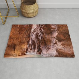 The Narrows Zion National Park Utah Rug