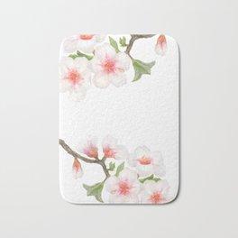 Flowering Almond Garden Bath Mat