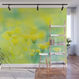 Yellow spring - Nature Fine Art photography Wall Mural