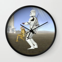 War Stars: Where is no need in Cavalry? Wall Clock