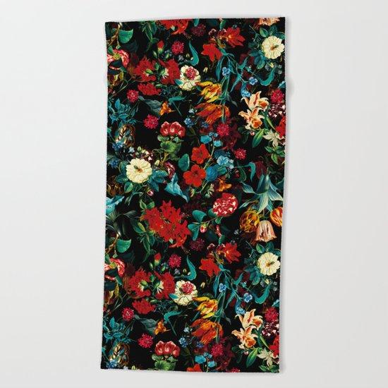 Exotic Garden II Beach Towel