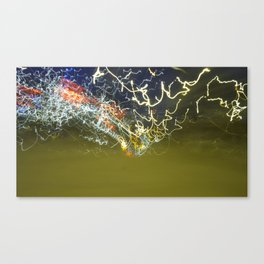 Speed of Colors. Canvas Print