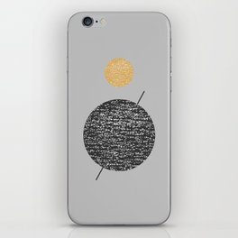 Saturn Abstract #society6 #decor #buyart iPhone Skin