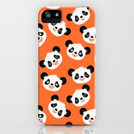 Happy Pandas iPhone Case