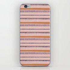 Pink & Orange Pattern iPhone & iPod Skin