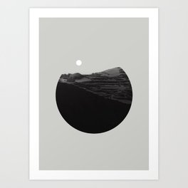 in shapes Art Print
