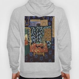 Henri Matisse Interior with Eggplants Hoody