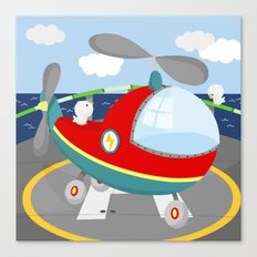 HELICOPTER (AERIAL VEHICLES) Canvas Print