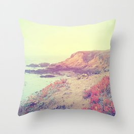 Quiet Shore Throw Pillow