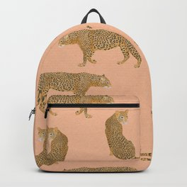 sunset leopards Backpack
