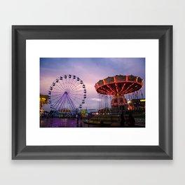 State Fair Framed Art Print