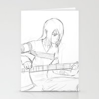marceline Stationery Cards featuring Marceline by WolfFace