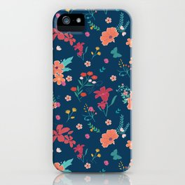 Cute floral all over print/ pattern design iPhone Case