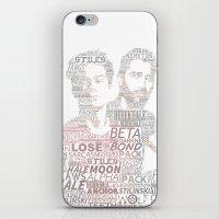 sterek iPhone & iPod Skins featuring STEREK by Amélie Store