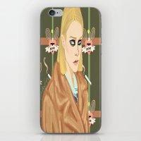 tenenbaum iPhone & iPod Skins featuring Margot Tenenbaum  by Maritza Lugo