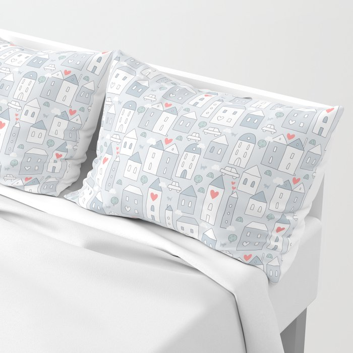 Love city Pillow Sham