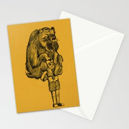 Grizzly Burden Stationery Cards