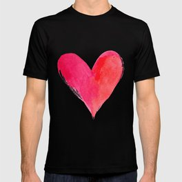Watercolor Heart for Your Valentine T-shirt