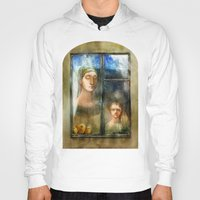 window Hoodies featuring Window by Iris V.