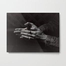 Softness of Men Metal Print