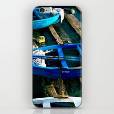 Boats iPhone & iPod Skin