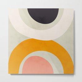 abstract modern geometric art Metal Print