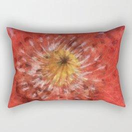 Poppy variation Rectangular Pillow