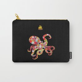 Geomatric Octopus Carry-All Pouch