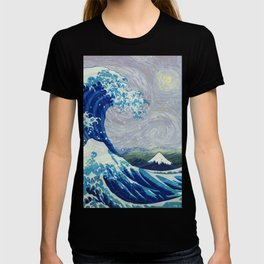 The Starry Night Wave T-shirt