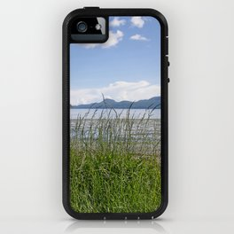 CRESCENT BEACH LOW TIDE ORCAS ISLAND iPhone Case