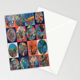 Bolitas de colores Stationery Cards