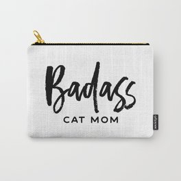 Badass cat mom Carry-All Pouch