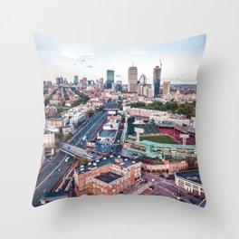Boston City Throw Pillow