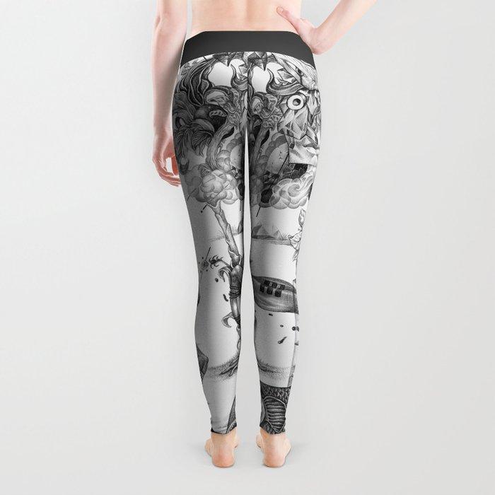 compositions Naturally (Black&White) Leggings