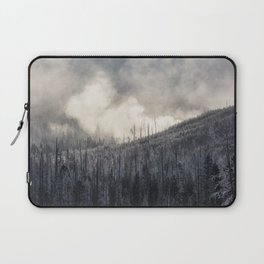 Steamy Forest -  Yellowstone National Park Laptop Sleeve