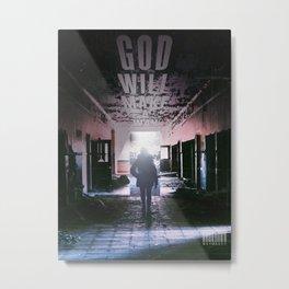 God Will Make A Way  Metal Print