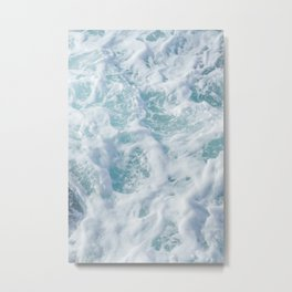 SEA - FOAM - PHOTOGRAPHY Metal Print