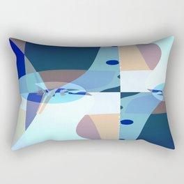 Abstract Fractal Art - Quistere- Cubism- Picasso Art Rectangular Pillow