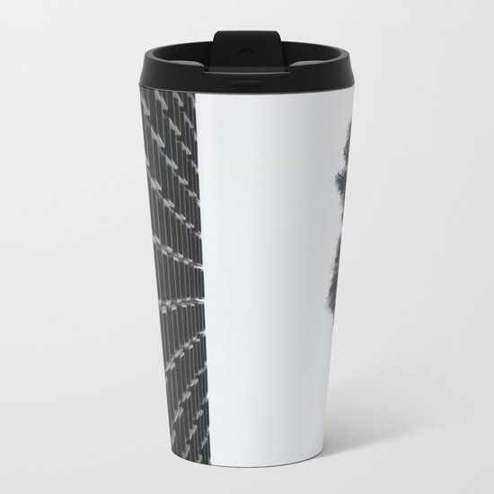the law of attraction Metal Travel Mug