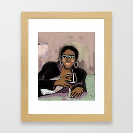 a time to chill Framed Art Print