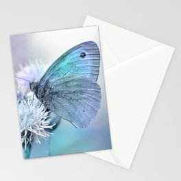 Butterfly blue 71 Stationery Cards
